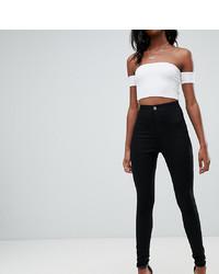 schwarze enge Jeans von Asos Tall