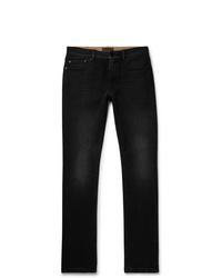 schwarze enge Jeans von Belstaff