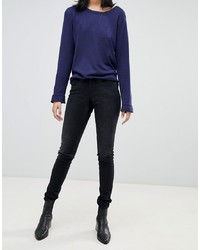 schwarze enge Jeans von Blend She