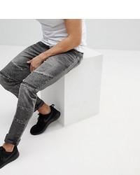 schwarze enge Jeans von Brooklyn Supply Co.