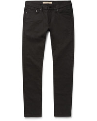 schwarze enge Jeans von Burberry