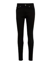 schwarze enge Jeans von Calvin Klein