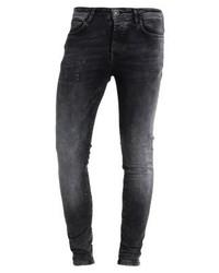 schwarze enge Jeans von Cars Jeans