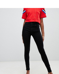 schwarze enge Jeans von Chorus Tall