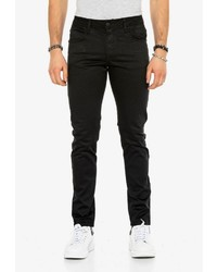 schwarze enge Jeans von Cipo & Baxx