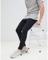 schwarze enge Jeans von Diesel