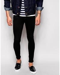 Schwarze Enge Jeans von Dr. Denim