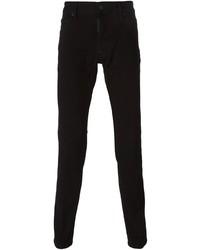schwarze enge Jeans von DSQUARED2