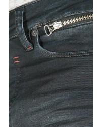 schwarze enge Jeans von EX-PENT