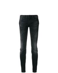 schwarze enge Jeans von Faith Connexion