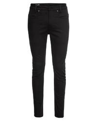 schwarze enge Jeans von G-Star RAW