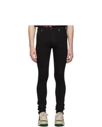 schwarze enge Jeans von Gucci