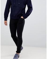 schwarze enge Jeans von Hugo