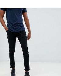 schwarze enge Jeans von Le Breve