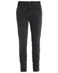 Schwarze Enge Jeans