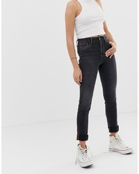 schwarze enge Jeans von Levi's