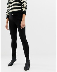 schwarze enge Jeans von Miss Selfridge