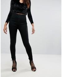 schwarze enge Jeans von Missguided