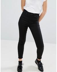 schwarze enge Jeans von Monki
