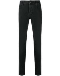 schwarze enge Jeans von MSGM