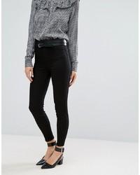 schwarze enge Jeans von New Look