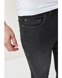 schwarze enge Jeans von next