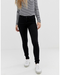 schwarze enge Jeans von Noisy May