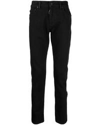 schwarze enge Jeans von Off-White