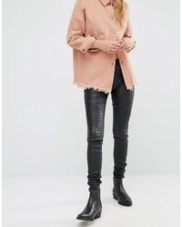 Schwarze Enge Jeans von Only