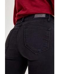 schwarze enge Jeans von OXXO