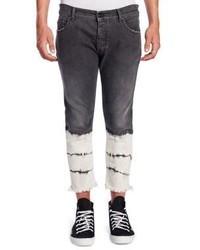 Schwarze Enge Jeans von Palm Angels