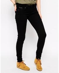 schwarze enge Jeans von Pepe Jeans