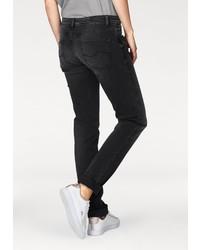 schwarze enge Jeans von Q/S designed by