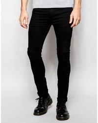 Schwarze Enge Jeans von Religion