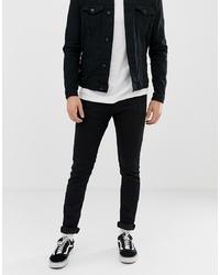 schwarze enge Jeans von Replay