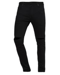 schwarze enge Jeans von River Island