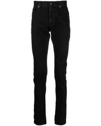 schwarze enge Jeans von Saint Laurent