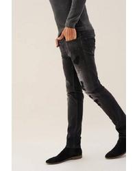 schwarze enge Jeans von SALSA