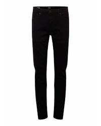 schwarze enge Jeans von Solid
