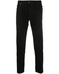 schwarze enge Jeans von Tagliatore