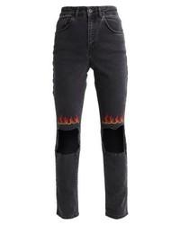 schwarze Enge Jeans von The Ragged Priest