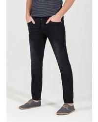 schwarze enge Jeans von Timezone