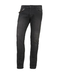 schwarze enge Jeans von Tom Tailor