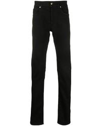 schwarze enge Jeans von Versace