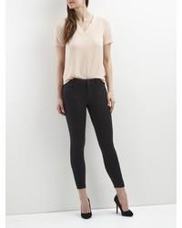 schwarze enge Jeans von Vila