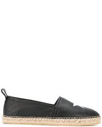 schwarze Espadrilles mit Sternenmuster von Givenchy