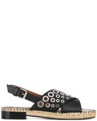 schwarze Espadrilles von Givenchy