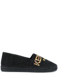 schwarze Espadrilles von Kenzo