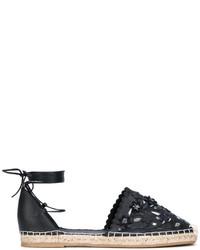 schwarze Espadrilles von Le Silla