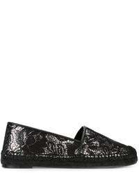schwarze Espadrilles von Stella McCartney